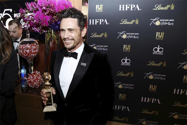 James Franco Award and Achievements