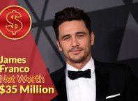 James Franco Net Worth 2020 – $35 Million