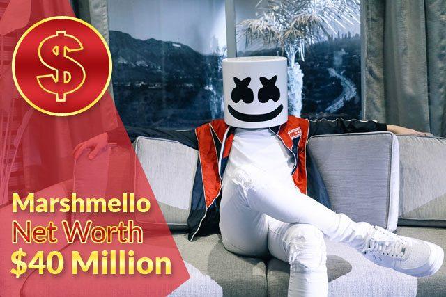 Marshmello Net Worth 2020 – $40 Million