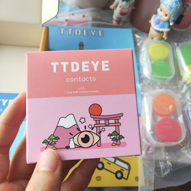 TTDeye Contact Lenses