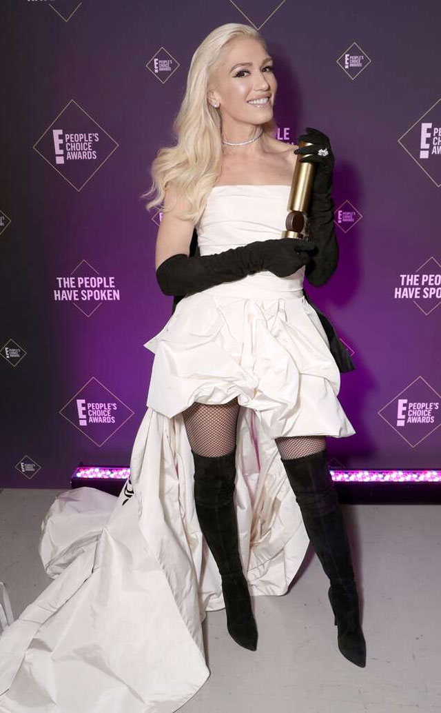 Awards and Achievements of Gwen Stefani