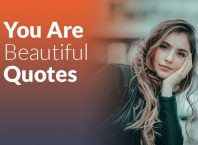 150+ Impressive You Are Beautiful Quotes for Her