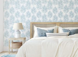 How to Take A Room From Drap To Fab with Peel and Stick Wallpaper